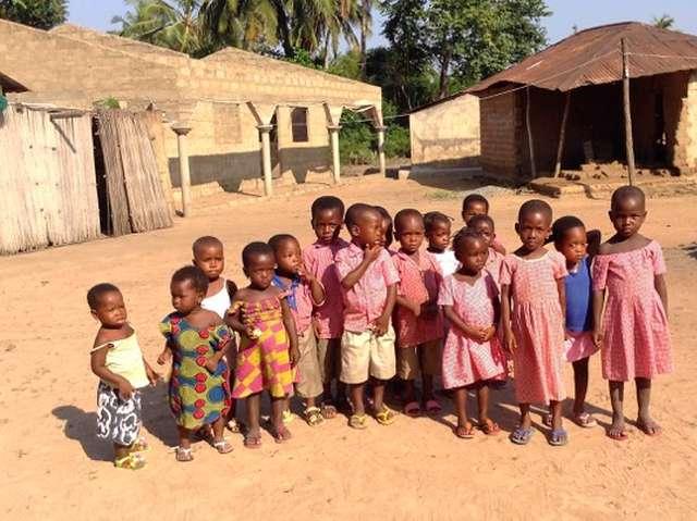 Les enfants du village de Kodzé