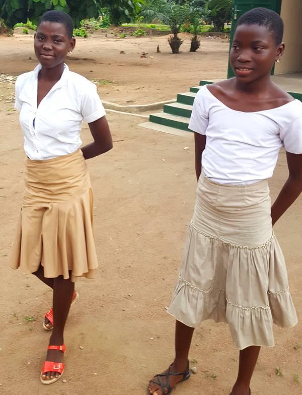 Kossiwa, Akouvi au collège