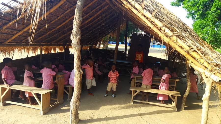 Jardin d'enfant du village de Kodzé