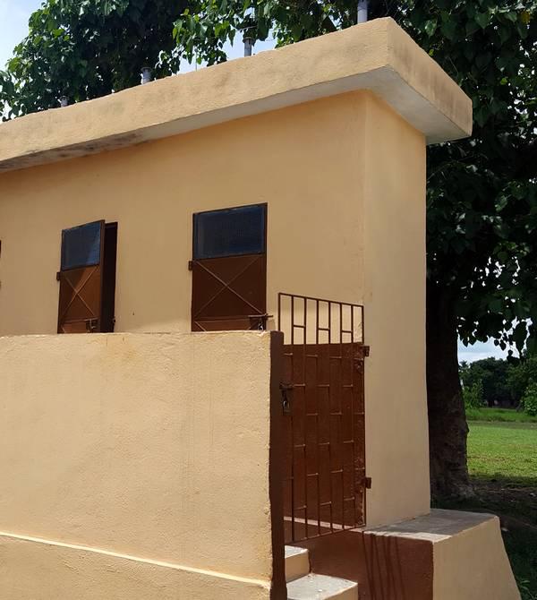 Type de latrine choisie pour le village