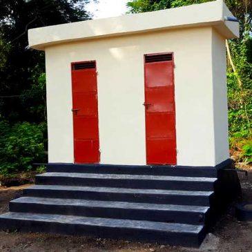 Les latrines sont en service !…