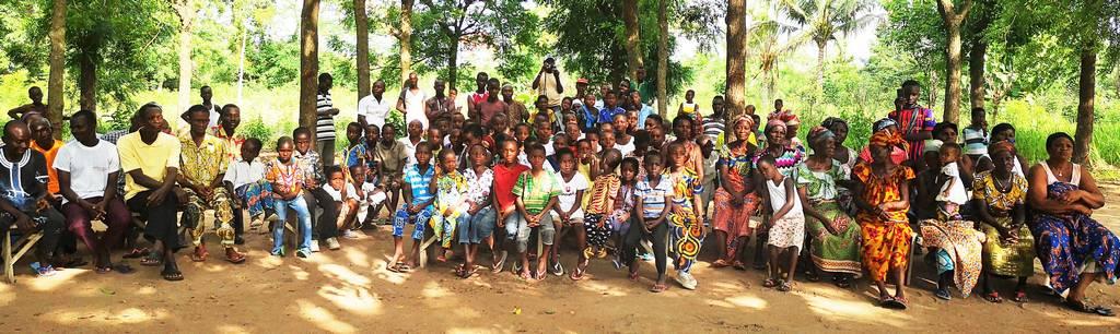 Les villageois de Woukpo