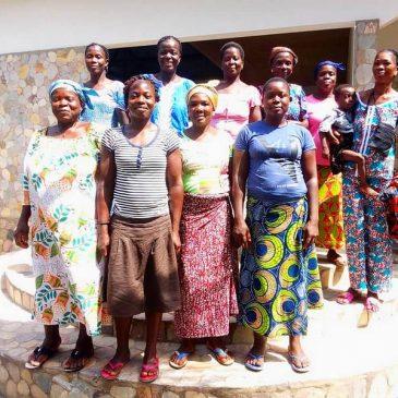 10 Femmes en stage à la Ferme Ecole KADOMA