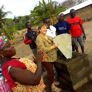 Première Pierre pour le jardin d'enfants au village de Kodzé | Projet : Apprendre pour créer demain… |